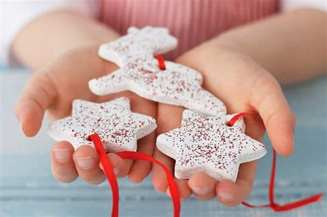 organic org salt dough ornaments