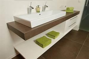 Waschtisch Für Bad : waschtisch waschtische waschtisch badezimmer fugenlos ~ Lizthompson.info Haus und Dekorationen