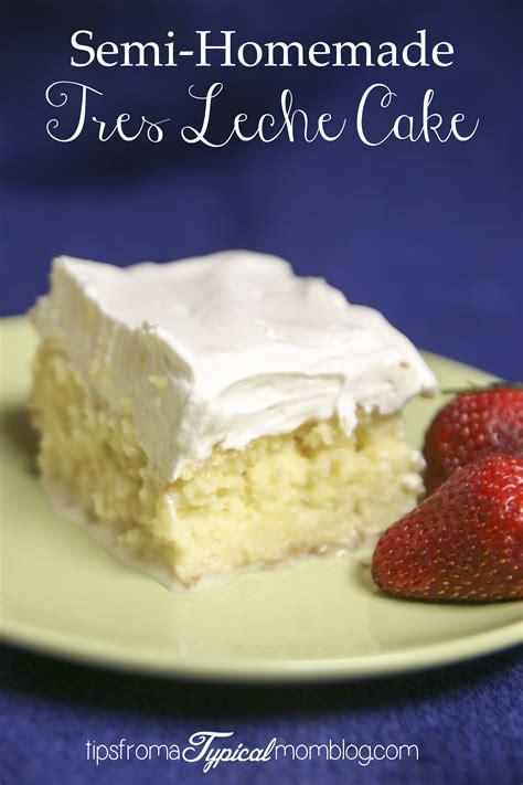 tres leches cake mix semi tres leche cake