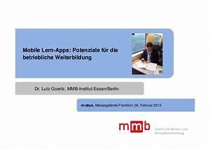 Dr Lutz Essen : mobile lern apps potenziale f r die betriebliche weiterbildung ~ Eleganceandgraceweddings.com Haus und Dekorationen