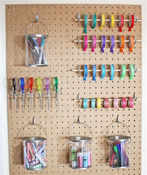 Storage Pegboard by 1000 Ideas About Pegboard Storage On Peg