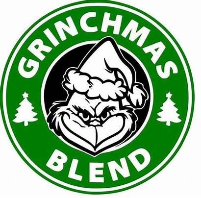 Grinch Starbucks Cricut Blend Grinchmas Stole Navidad