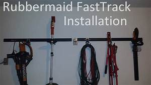 Rubbermaid Fast Track Garage Organization System Review