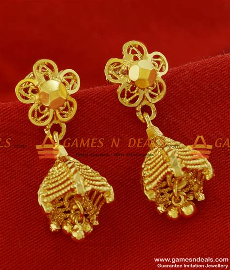 Er112  Traditional Small Umbrella Jhumki Design Gold. Ethnic Pendant. Real Emerald Pendant. Sailboat Pendant. Dwynwen Pendant. Latest Model Pendant. Artificial Pendant. Manifestation Pendant. Amazonite Pendant
