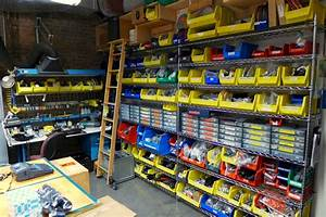 how to organize your shop, organize bins, sorting