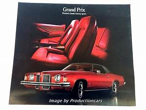 Grand Prix Originals : 1973 pontiac grand prix original car sales brochure folder ~ Jslefanu.com Haus und Dekorationen