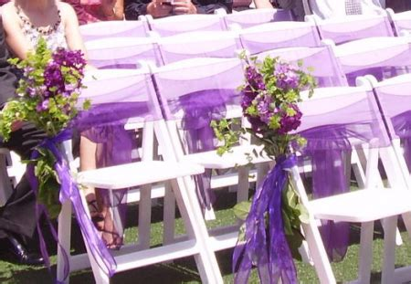 wedding decoration idea lilac grey idee originale deco