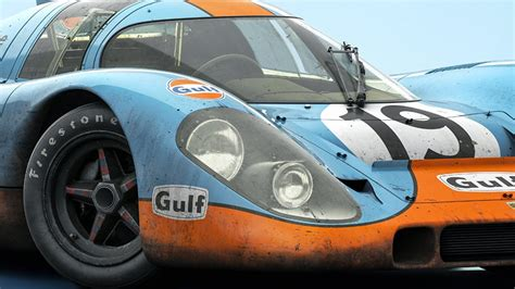 Blue Porsche 917 #019