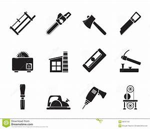 Silhouette Woodworking Industry And Woodworking Tools