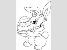 top 15 free printable easter bunny coloring pages online - Happy Garden Chico