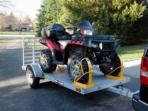 How to Secure Your ATV on a Trailer - LiveOutdoors