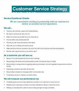service strategy template 6 free word pdf documents With customer care charter template