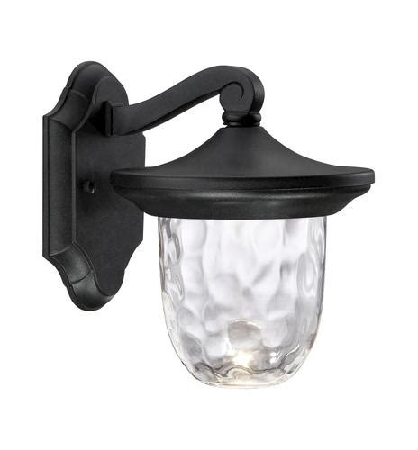 patriot lighting autumn 9 black led wall light at menards 174