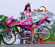 Foto Motor R Warna Pink by Desain Modifikasi 47 Gambar Desain Modifikasi Scoopy