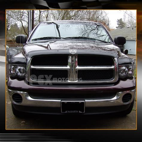 2005 dodge ram lights 2002 2005 dodge ram 1500 2500 3500 black headlight black