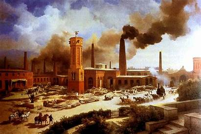 Industrial Revolucion Revolucao Comercio Internacional Efectos Seculo