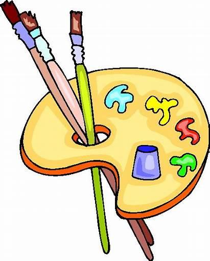 Malen Cliparts Clipart Animaatjes Clip Schilderen Paint