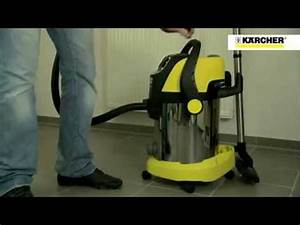 K U00e4rcher Wet And Dry Vacuum Cleaners Demo  Demonstration