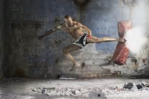 Martial Arts Kick Boxing