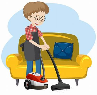 Cleaning Clipart Casa Vector Graphics Cleaner Che
