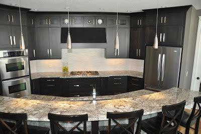 remodelaholic fabulous kitchen design  black