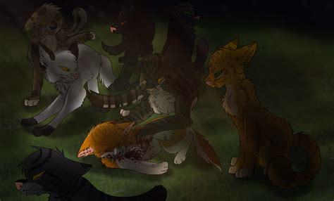 death of gorsepaw by xxtwisted rainbows on deviantart