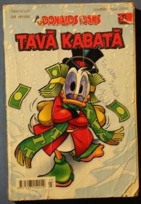 Donalds Daks TAVĀ KABATĀ N3 - V. Disnejs - iBook.lv ...