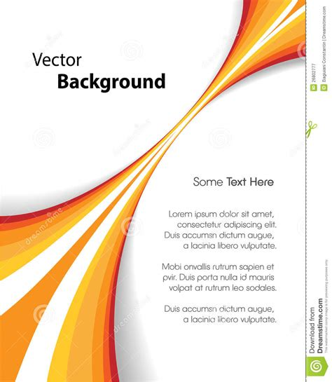 orange brochure background royalty  stock photography