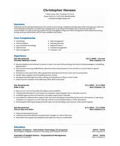 Spa Receptionist Cover Letter Spa Receptionist Resume Cover Letter Writefiction581 Web Fc2
