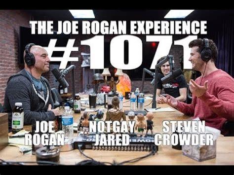 joe rogan experience  steven crowder notgay jared