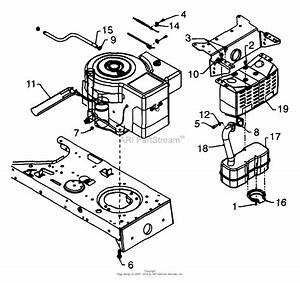 Mtd 13am672g088  1999  Parts Diagram For Engine