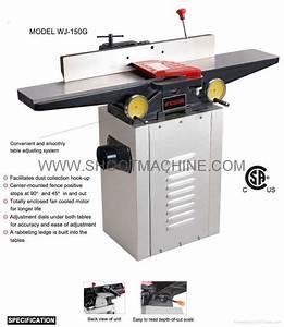 """6"""" Wood Jointer Machine,WJ-150G - SHOOT (China"""