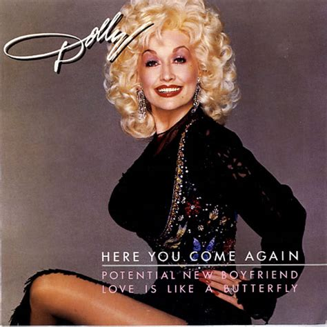 """Dolly Parton Here You Come Again Uk 7"""" Vinyl Single (7"""