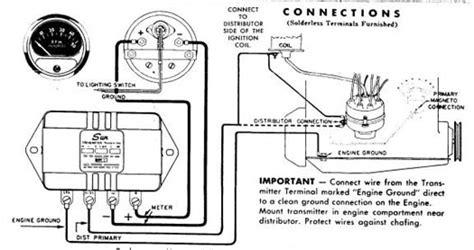 Technical Need Help Wiring Sun Transmitter Tach The