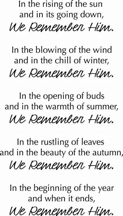 Poem Death Down Grief Poems Funeral Remember
