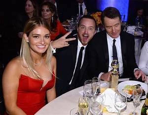 Aaron Paul and his wife, Lauren Parsekian, hung out with ...