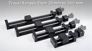 Etrack Low Cost Linear Stage