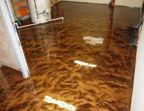 he poured epoxy all over his floor the end result was