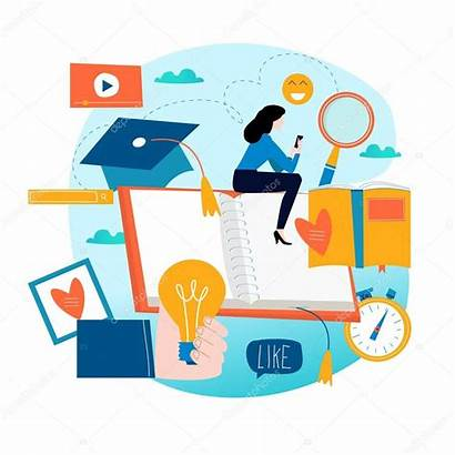 Education Training Distance Learning Courses Internet Flat