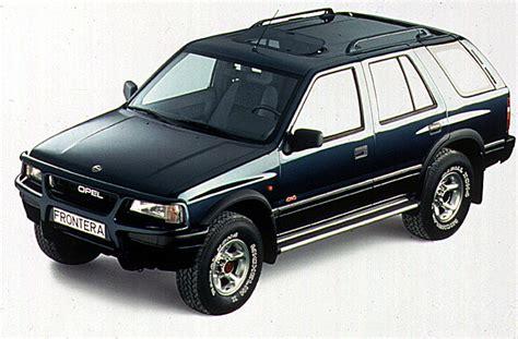 opel frontera 1995 opel frontera wagon specs 1992 1993 1994 1995