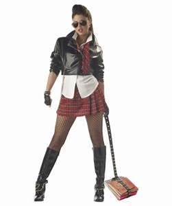 Punk Rock Princess Teen Halloween Costume - Girls Costume