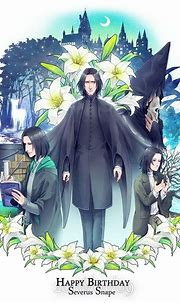 Happy birthday, Severus Snape - 9 January. Rest in peace ...