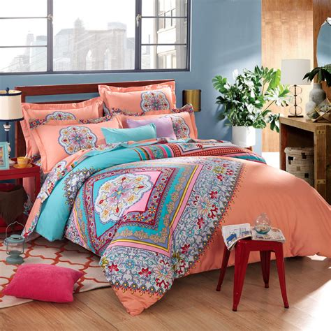 bedroom admirable bohemian comforter  twin full queen