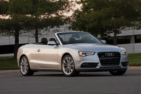 Audi A5 Convertible by 2014 Audi A5 Convertible Top Speed