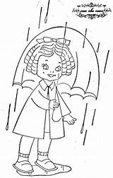 Embroidery Umbrella Pattern Floss Projects sketch template