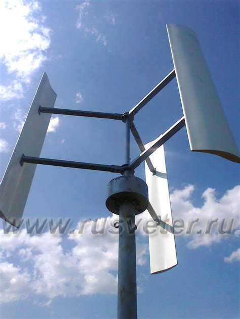 Выбор места для установки ветрогенератора