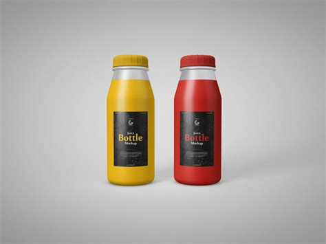 It is perfect for designers, since they are easily editable via smart objects. Free Juice Bottle Mockups | Mockuptree
