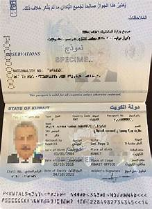 New Kuwaiti Electronic Passport Q8 ALL IN ONE The Blog