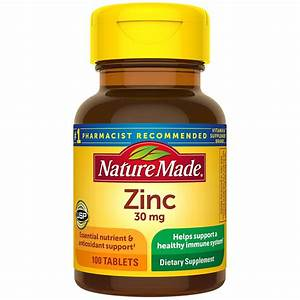 10 Mg Zinc Supplement