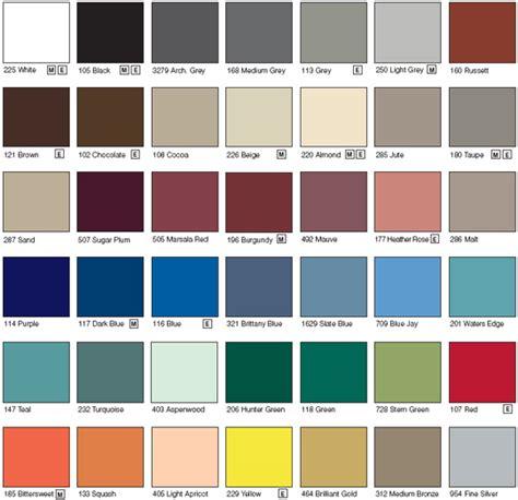 matthews paint color chart